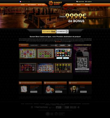 Sunset Slots version TopGame